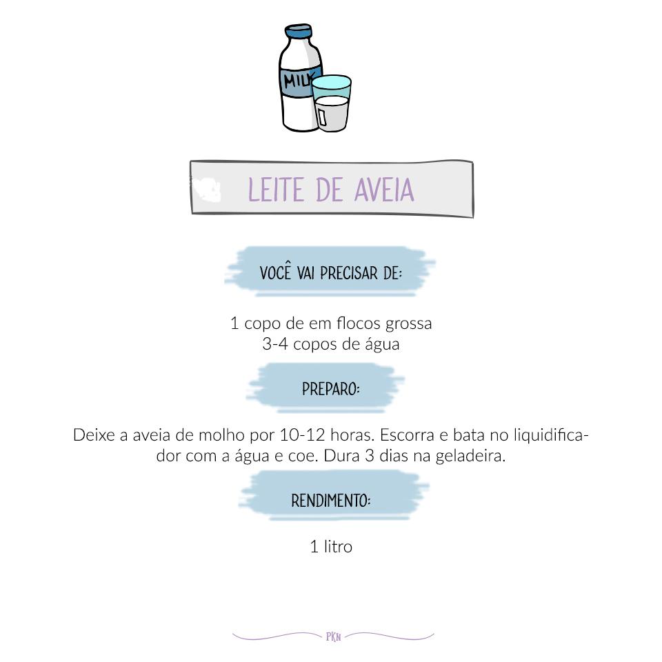receira leite de aveia